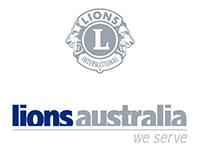 lions aust logo