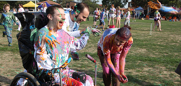 2013 NYW paint fight