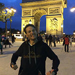 Rob and the Arc de Triomph
