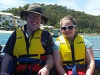 Boat cruise, Tangalooma