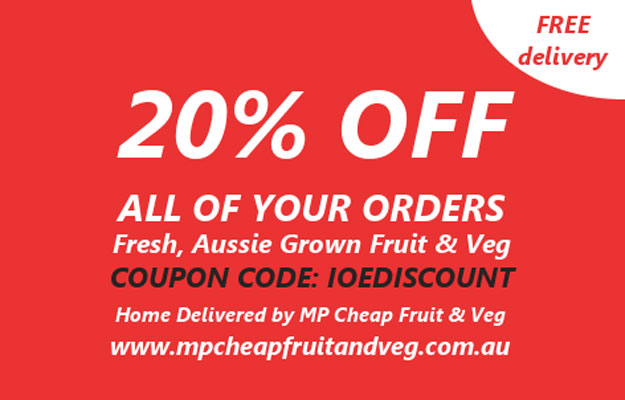 IOE fruit and vege discount