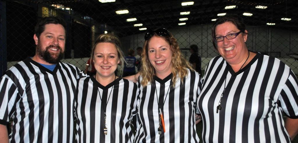 Soccer Tournament umpires