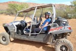 dune buggy exploring in Alice