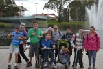 group shot by the Torrens in Adelaide