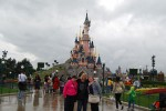 the girls at Paris Disneyland