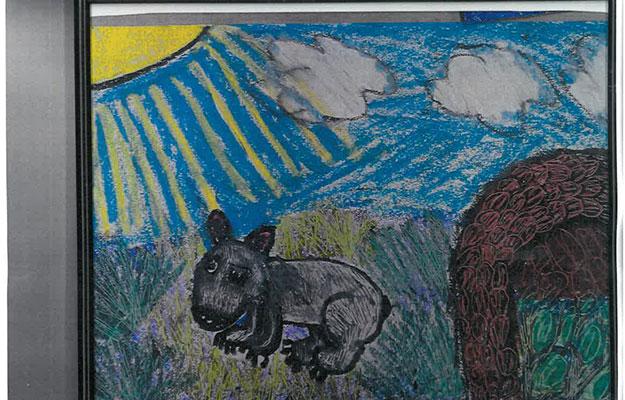 Bethany's wombat