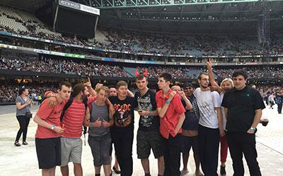 the boys at Etihad