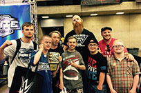 with wrestlemania superstar