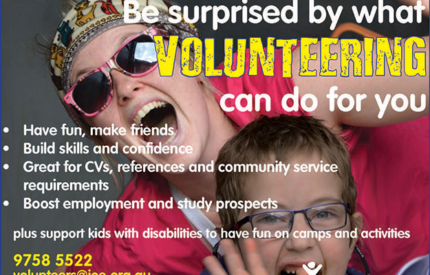 volunteer campaign advert