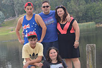 Frances Gammino & family