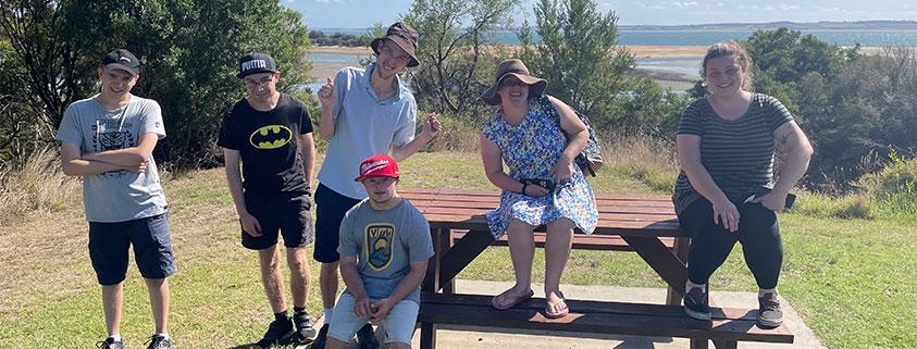 Adult rec beach trip